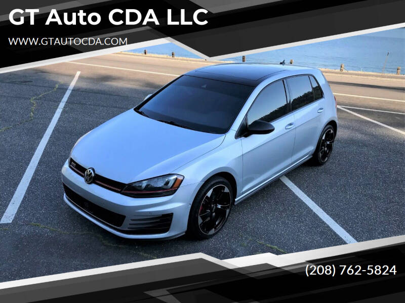 2016 Volkswagen Golf GTI for sale at GT Auto CDA LLC in Coeur D Alene ID