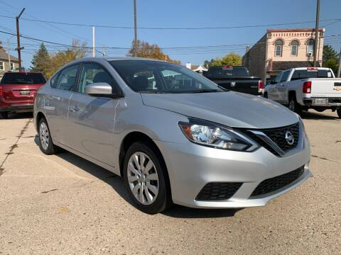 2018 Nissan Sentra for sale at Auto Gallery LLC in Burlington WI