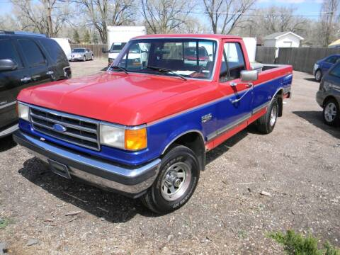 1990 Ford F-150 for sale at Cimino Auto Sales in Fountain CO