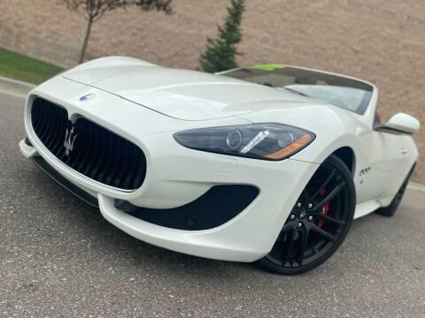 2015 Maserati GranTurismo for sale at Rite Track Auto Sales in Canton MI