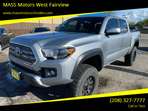 2016 Toyota Tacoma for sale at MASS Motors West Fairview in Boise ID