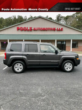 2017 Jeep Patriot for sale at Poole Automotive in Laurinburg NC
