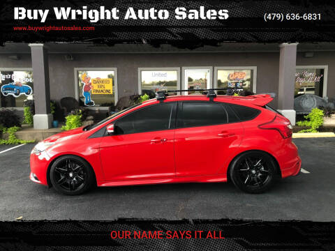 2014 Ford Focus for sale at Buy Wright Auto Sales in Rogers AR
