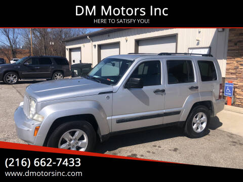 2010 Jeep Liberty for sale at DM Motors Inc in Maple Heights OH