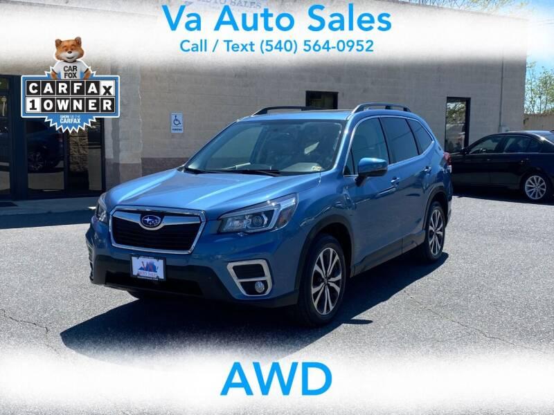 2019 Subaru Forester for sale at Va Auto Sales in Harrisonburg VA