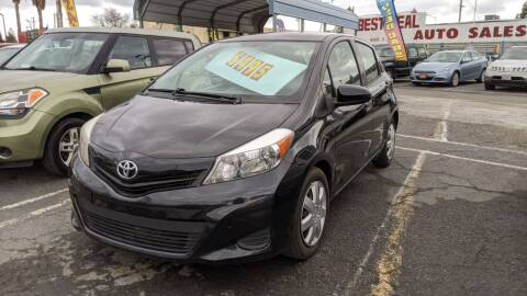 2012 Toyota Yaris for sale at Best Deal Auto Sales in Stockton CA