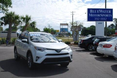 2017 Toyota RAV4 for sale at BlueWater MotorSports in Wilmington NC