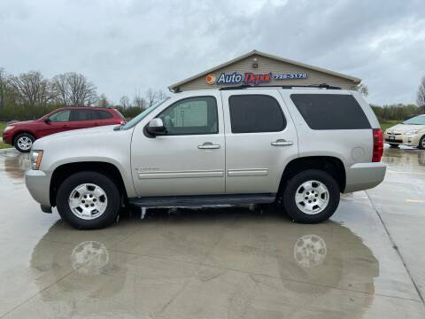 2009 Chevrolet Tahoe for sale at The Auto Depot in Mount Morris MI