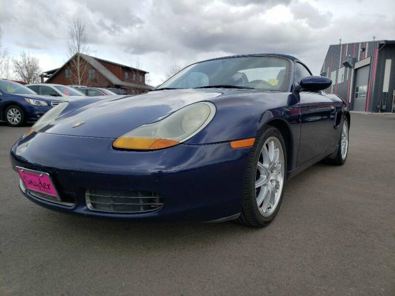 2002 Porsche Boxster for sale at Snyder Motors Inc in Bozeman MT