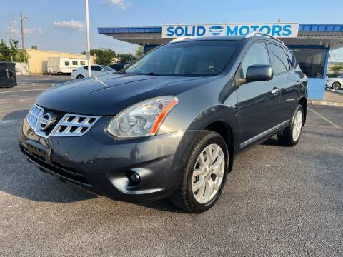2013 Nissan Rogue for sale at SOLID MOTORS LLC in Garland TX