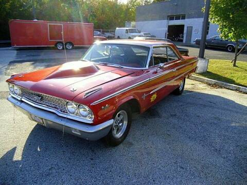 1963 Ford Galaxie for sale at Black Tie Classics in Stratford NJ