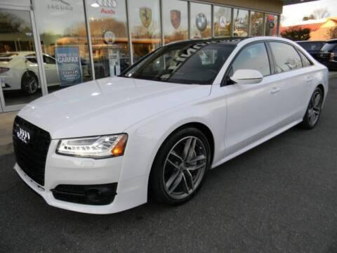 2017 Audi A8 L for sale at Platinum Motorcars in Warrenton VA