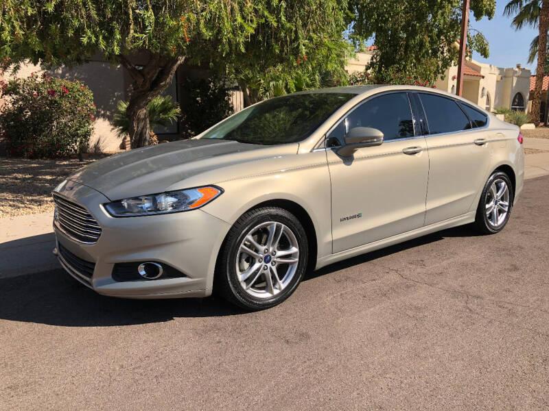 2015 Ford Fusion Hybrid for sale at Arizona Hybrid Cars in Scottsdale AZ