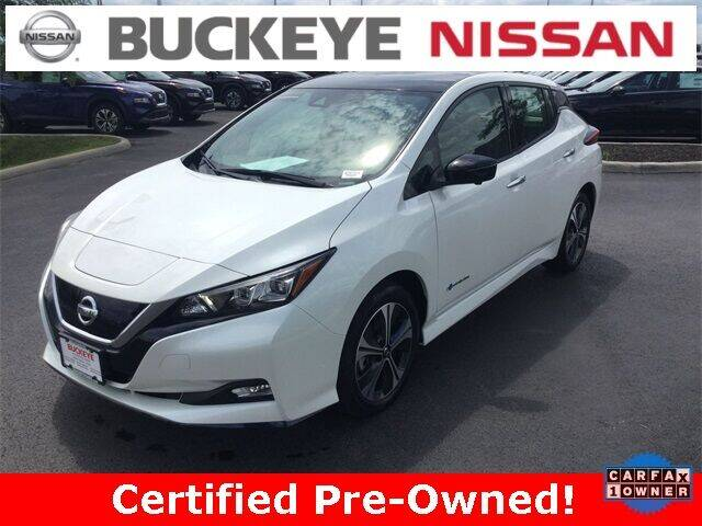 2019 Nissan LEAF for sale in Hilliard, OH