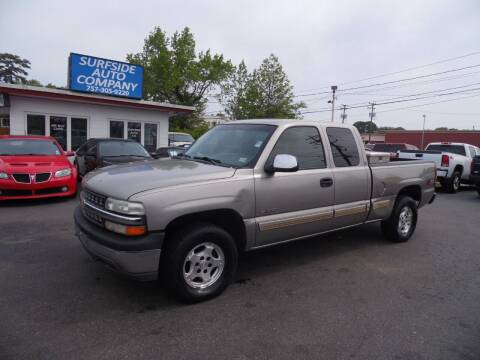 2002 Chevrolet Silverado 1500 for sale at Surfside Auto Company in Norfolk VA