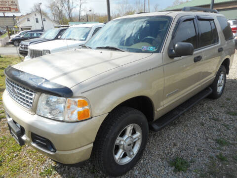 2005 Ford Explorer for sale at Sleepy Hollow Motors in New Eagle PA