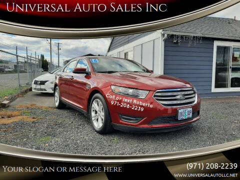 2016 Ford Taurus for sale at Universal Auto Sales Inc in Salem OR