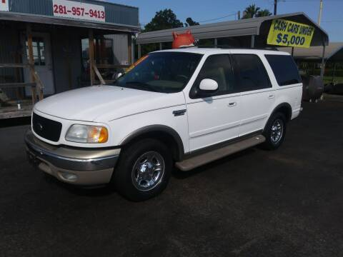 2001 Ford Expedition for sale at Texas 1 Auto Finance in Kemah TX