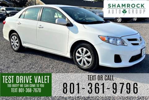 2011 Toyota Corolla for sale at Shamrock Group LLC #1 in Pleasant Grove UT