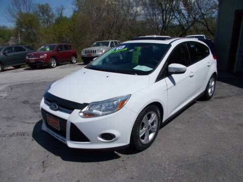 2014 Ford Focus for sale at Careys Auto Sales in Rutland VT