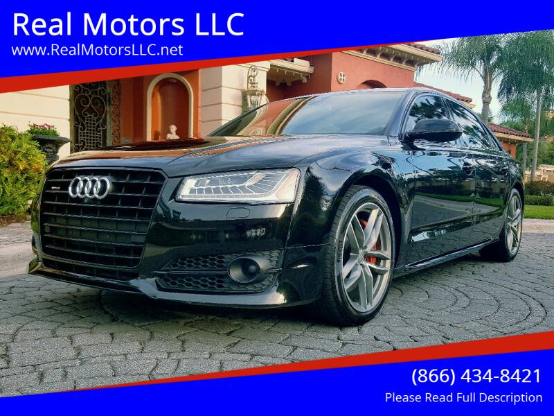 2017 Audi A8 L for sale at Real Motors LLC in Clearwater FL