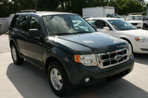 2008 Ford Escape for sale at Mike's Trucks & Cars in Port Orange FL