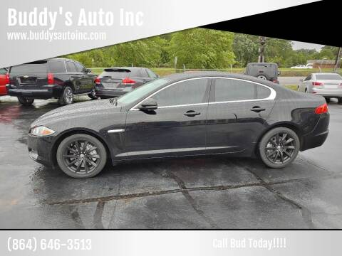 2012 Jaguar XF for sale at Buddy's Auto Inc in Pendleton, SC