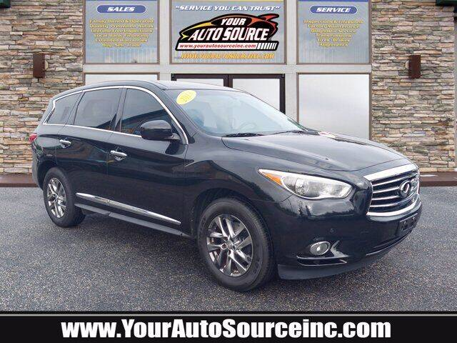 2013 Infiniti JX35 for sale at Your Auto Source in York PA