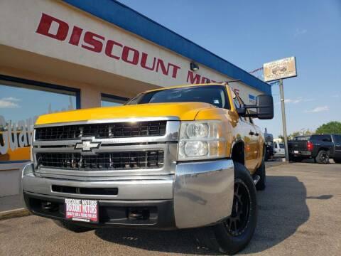 2010 Chevrolet Silverado 2500HD for sale at Discount Motors in Pueblo CO
