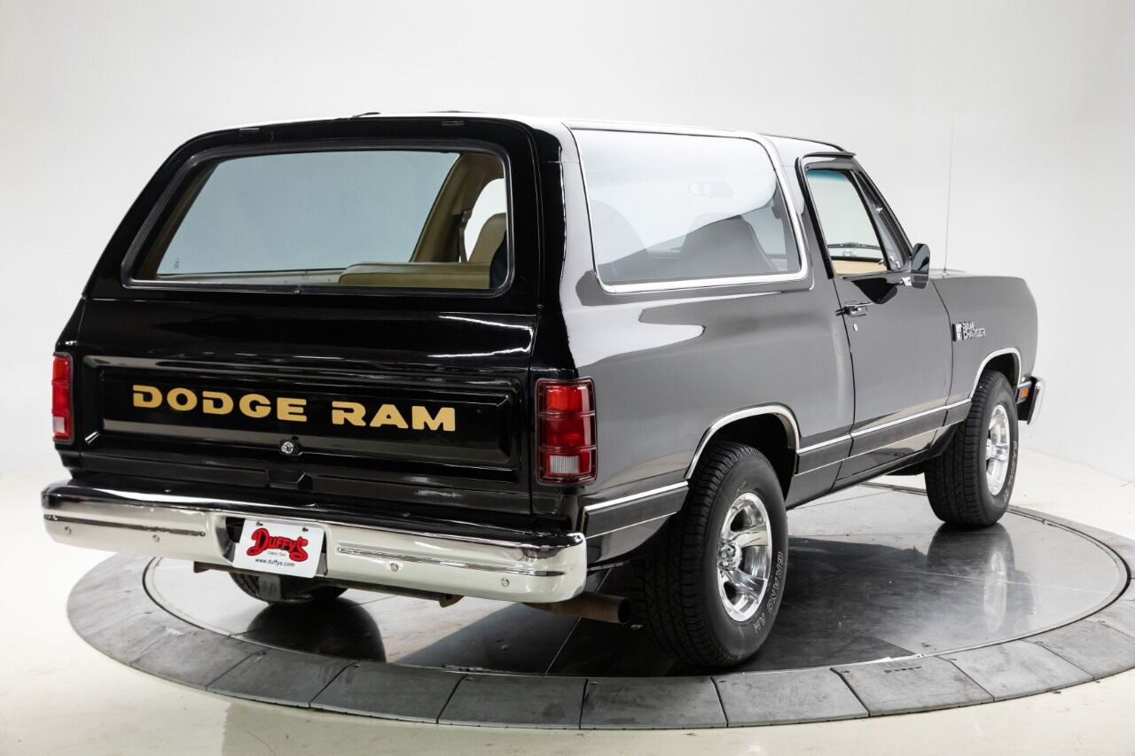 1989 Dodge Ramcharger 4