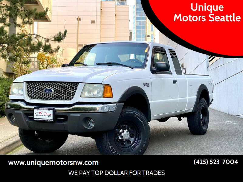2001 Ford Ranger for sale at Unique Motors Seattle in Bellevue WA