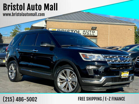 2018 Ford Explorer for sale at Bristol Auto Mall in Levittown PA