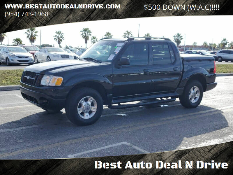 2001 Ford Explorer Sport Trac for sale at Best Auto Deal N Drive in Hollywood FL