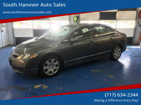 2010 Honda Civic for sale at South Hanover Auto Sales in Hanover PA