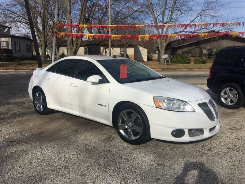 2009 Pontiac G6 for sale at Antique Motors in Plymouth IN