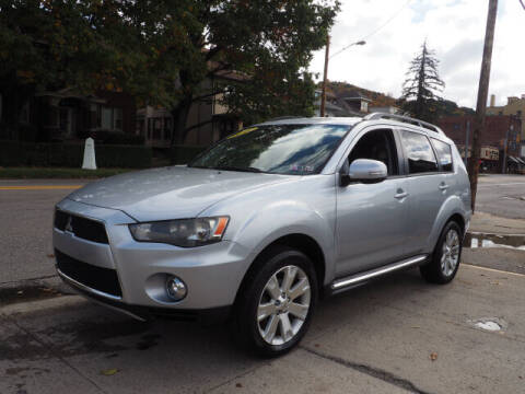 2012 Mitsubishi Outlander for sale at Advantage Auto Sales in Wheeling WV