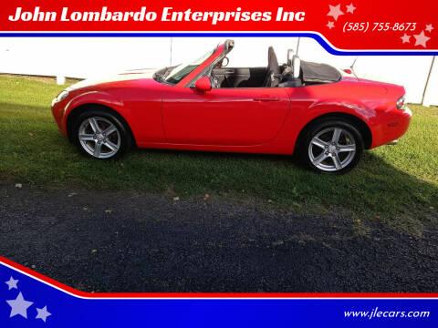2006 Mazda MX-5 Miata for sale at John Lombardo Enterprises Inc in Rochester NY