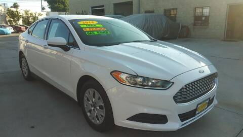 2014 Ford Fusion for sale at El Guero Auto Sale in Hawthorne CA