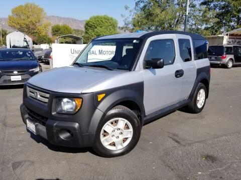 2008 Honda Element for sale at Universal Motors in Glendora CA