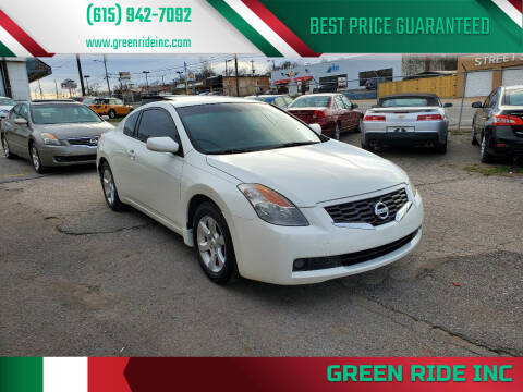 2009 Nissan Altima for sale at Green Ride Inc in Nashville TN