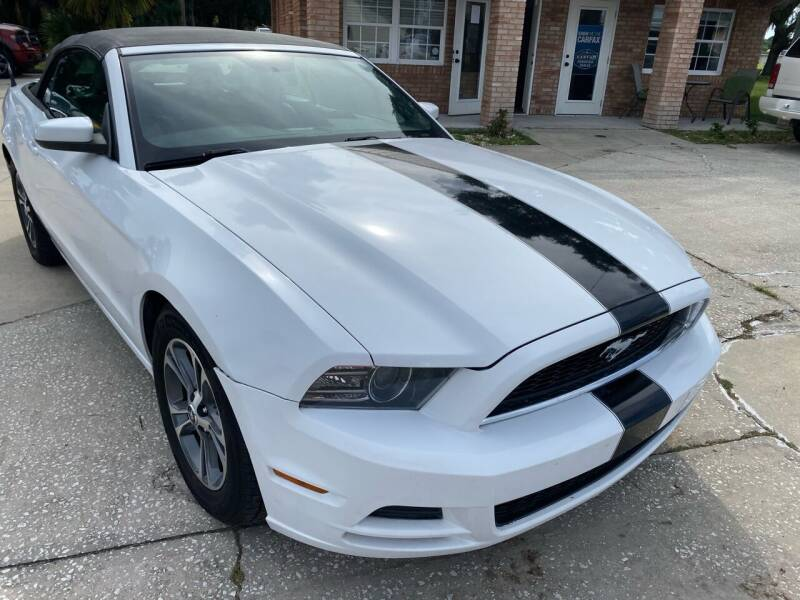 2014 Ford Mustang for sale at MITCHELL AUTO ACQUISITION INC. in Edgewater FL