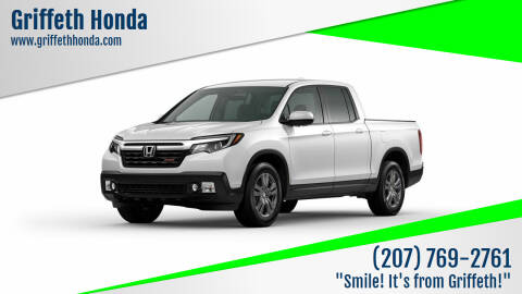 2021 Honda Ridgeline for sale at Griffeth Honda in Presque Isle ME