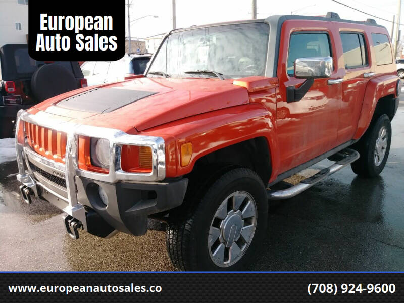 2008 HUMMER H3 for sale at European Auto Sales in Bridgeview IL