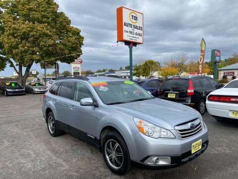 2012 Subaru Outback for sale at TDI AUTO SALES in Boise ID