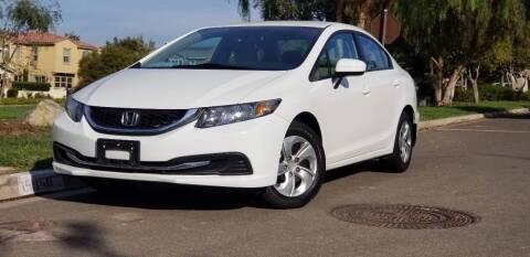 2014 Honda Civic for sale at Masi Auto Sales in San Diego CA