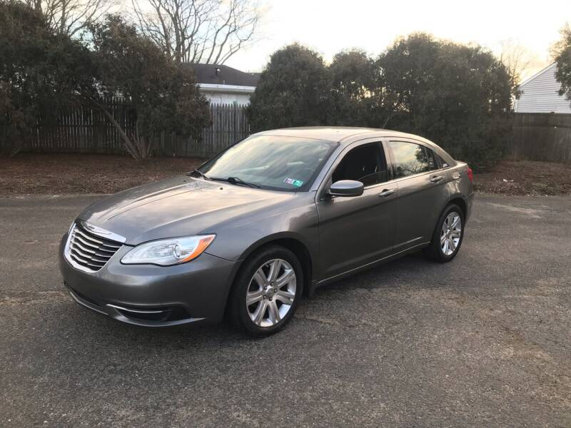 2011 Chrysler 200 for sale at Elwan Motors in West Long Branch NJ