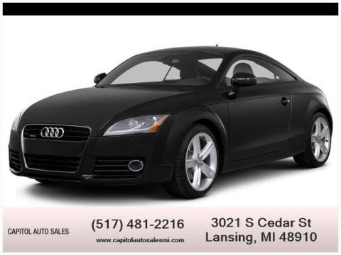 2011 Audi TT for sale at Capitol Auto Sales in Lansing MI