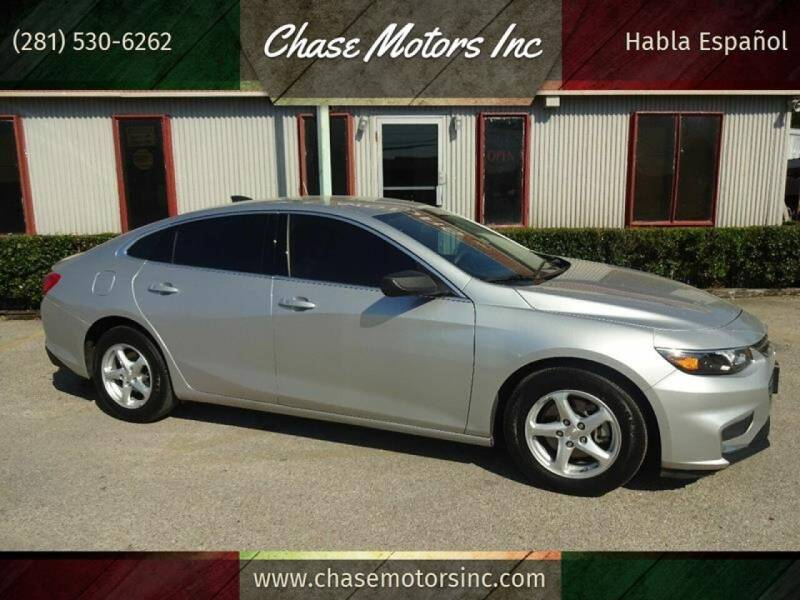 2017 Chevrolet Malibu for sale at Chase Motors Inc in Stafford TX