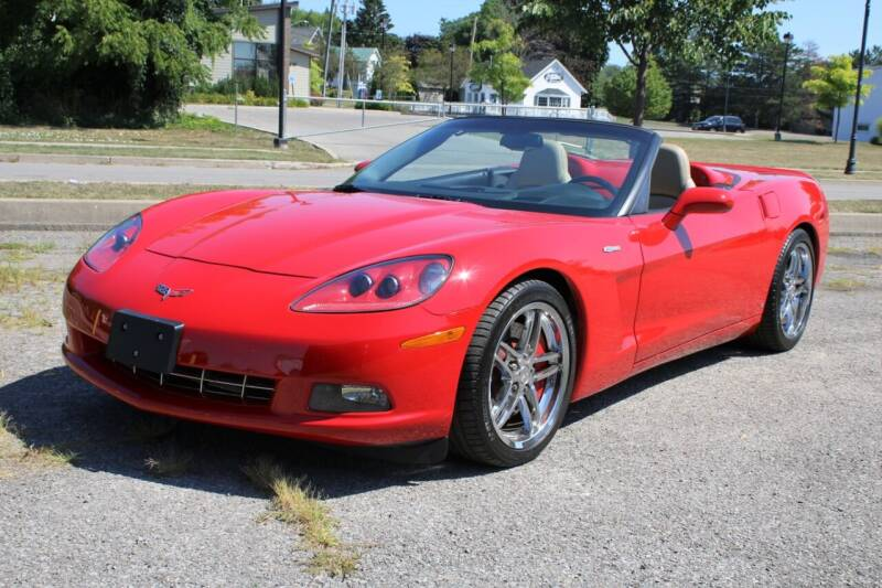 2009 Chevrolet Corvette for sale at Great Lakes Classic Cars & Detail Shop in Hilton NY