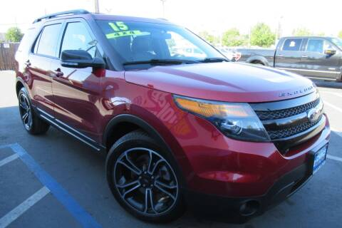 2015 Ford Explorer for sale at Choice Auto & Truck in Sacramento CA